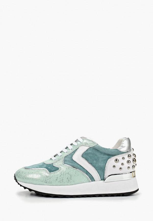 Фото - женские кроссовки Vitacci зеленого цвета