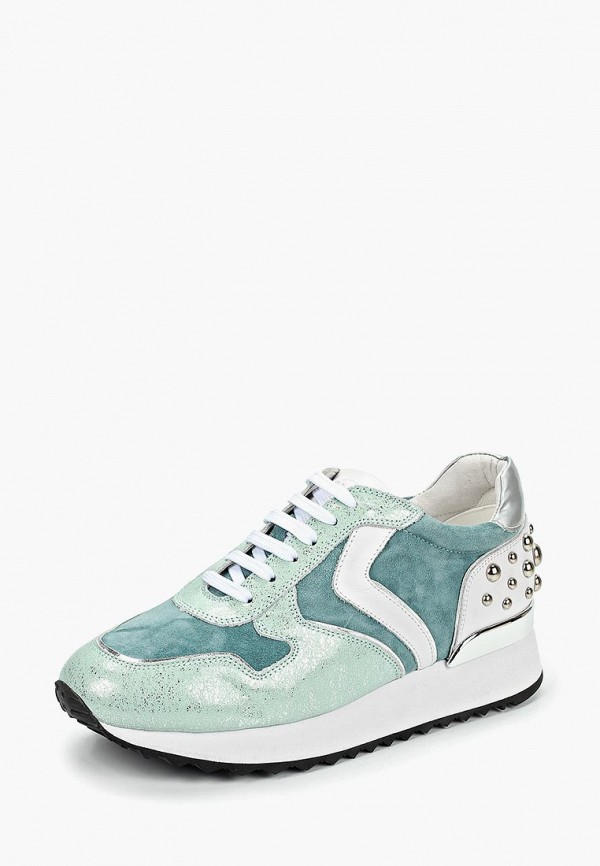 Фото 2 - женские кроссовки Vitacci зеленого цвета