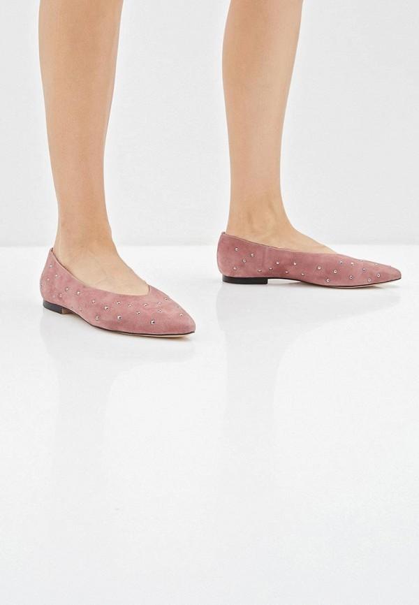Фото 6 - женские балетки Vitacci фиолетового цвета