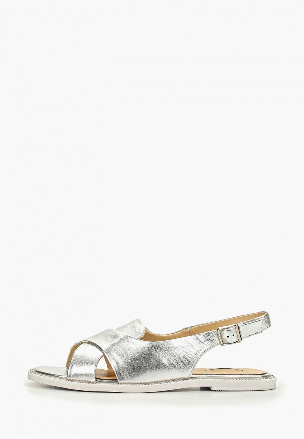 женские сандалии vitacci, серебряные
