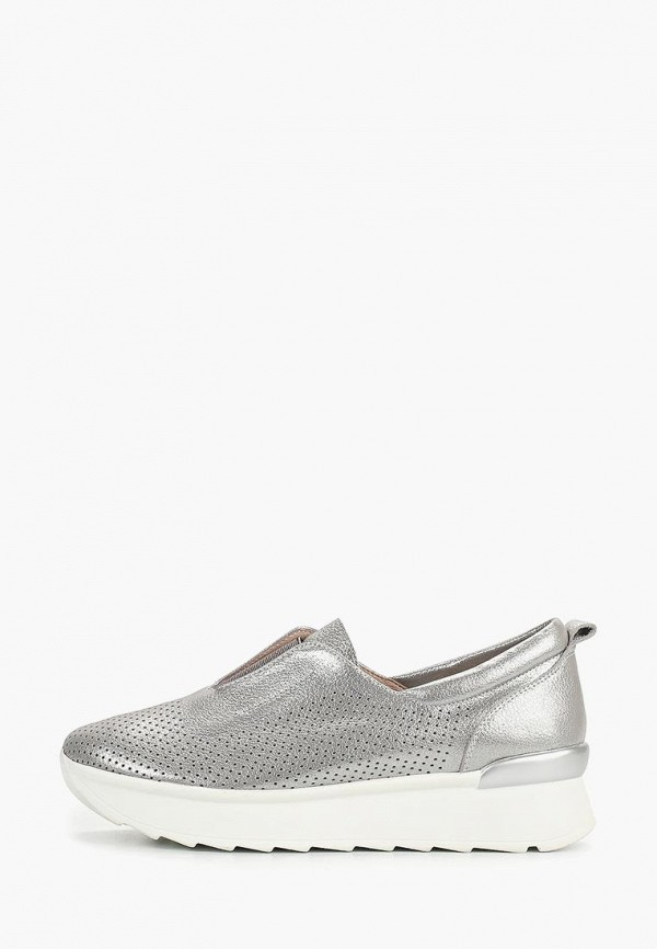 женские кроссовки vitacci, серебряные