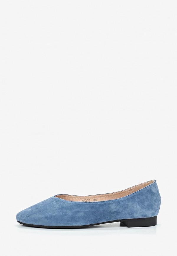 женские балетки vitacci, голубые