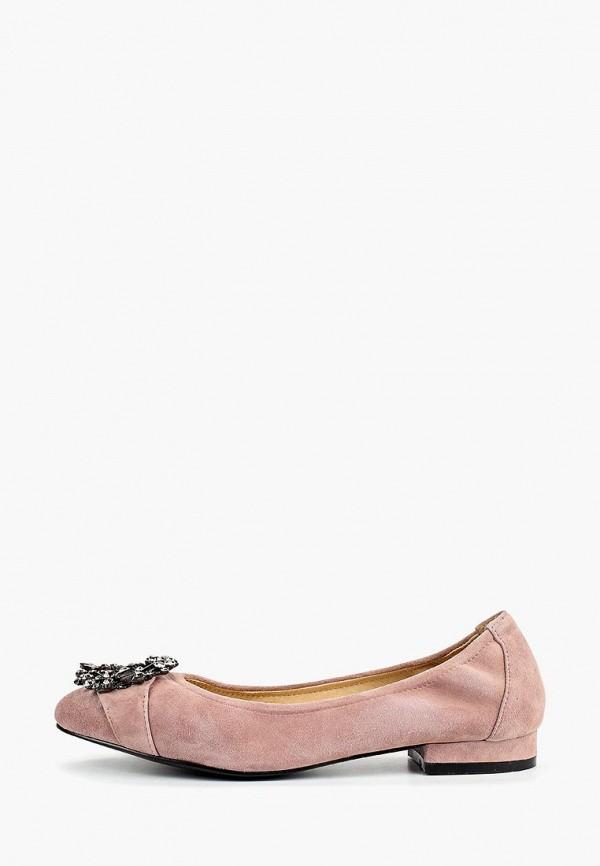 женские балетки vitacci, розовые