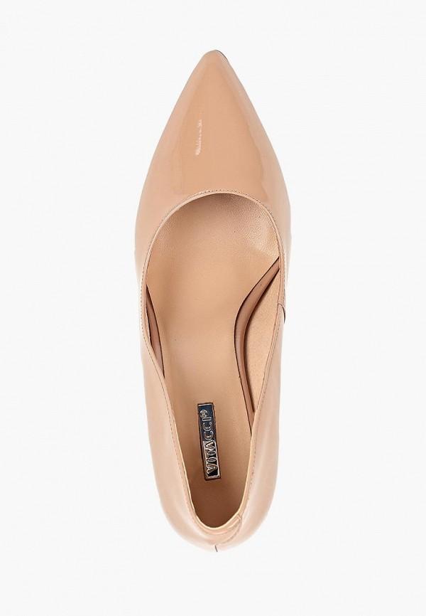 Фото 4 - женские туфли Vitacci бежевого цвета
