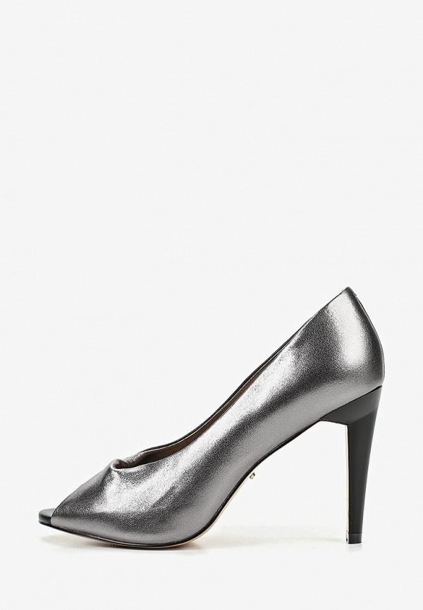 женские туфли vitacci, серебряные
