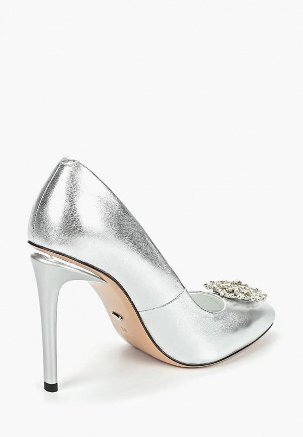 Фото 3 - женские туфли Vitacci серебрянного цвета