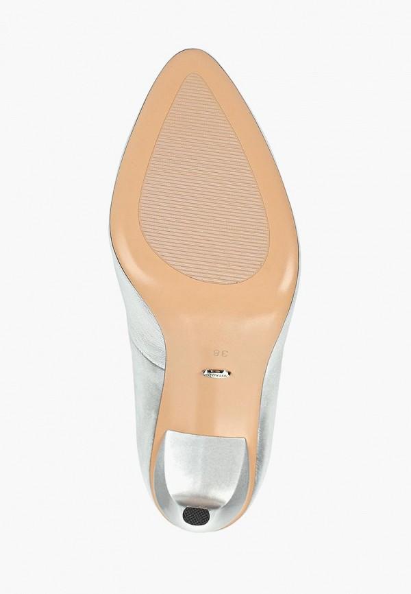 Фото 5 - женские туфли Vitacci серебрянного цвета