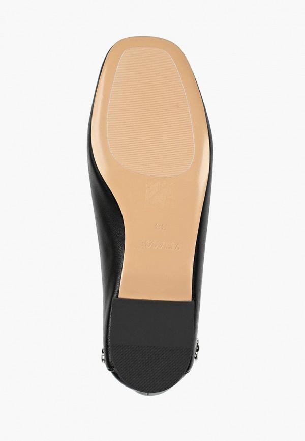 Фото 5 - женские туфли Vitacci черного цвета