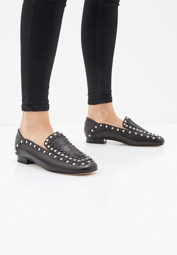 Фото 6 - женские туфли Vitacci черного цвета