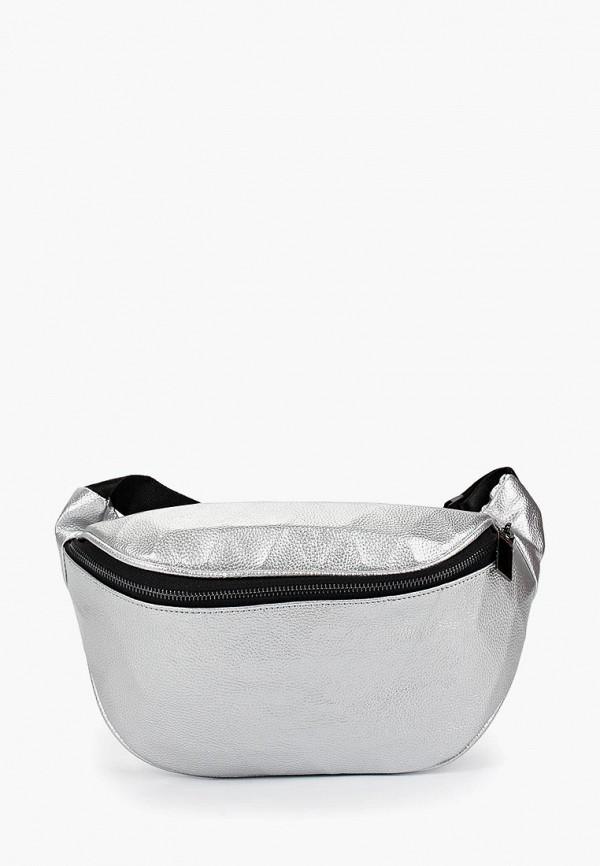сумка vitacci для девочки, серебряная
