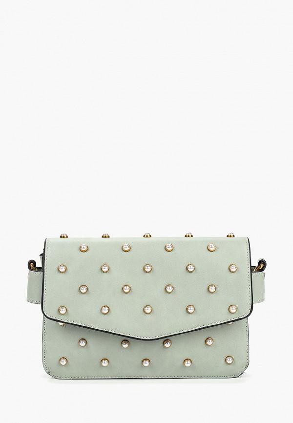 женская сумка vitacci, зеленая