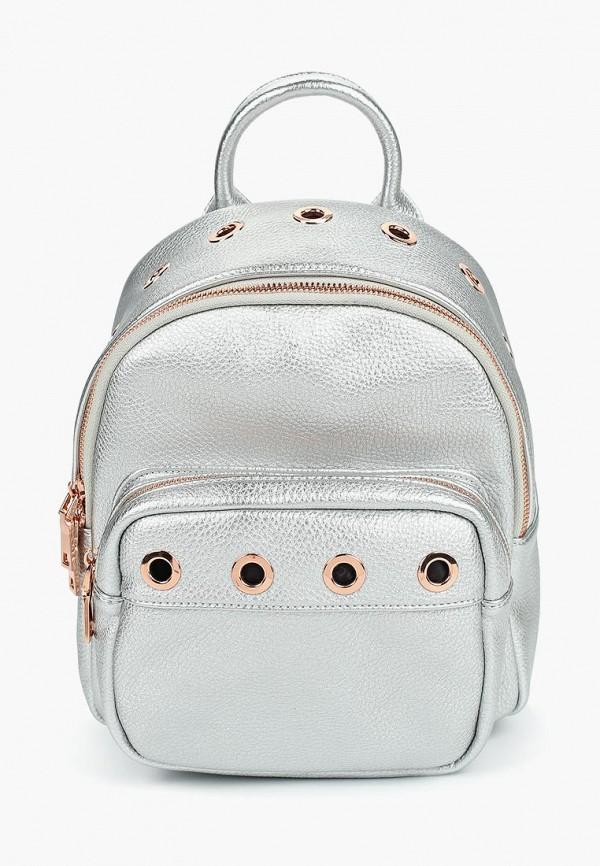 женский рюкзак vitacci, серебряный