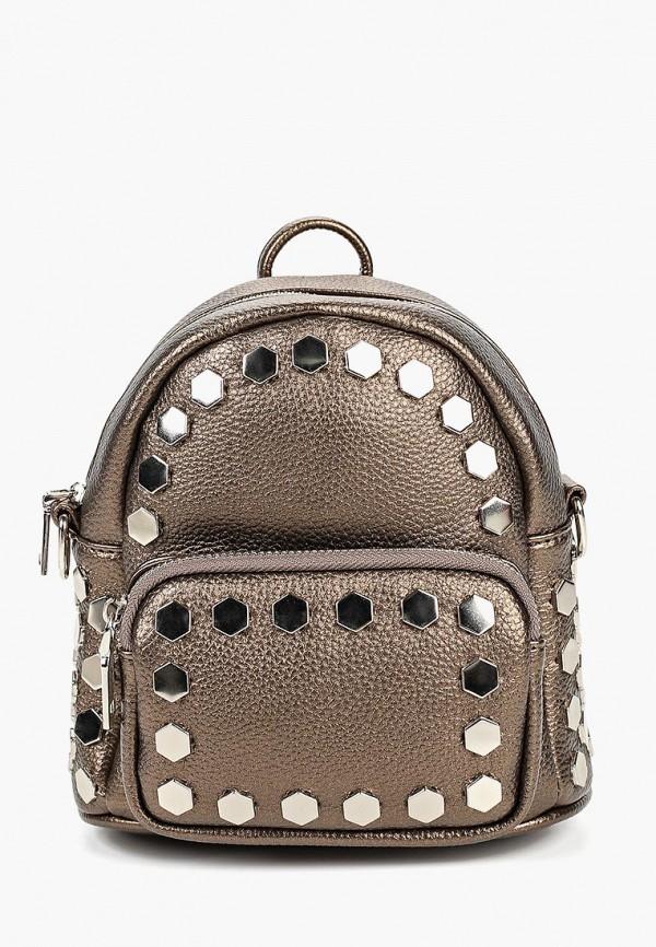 женский рюкзак vitacci, коричневый