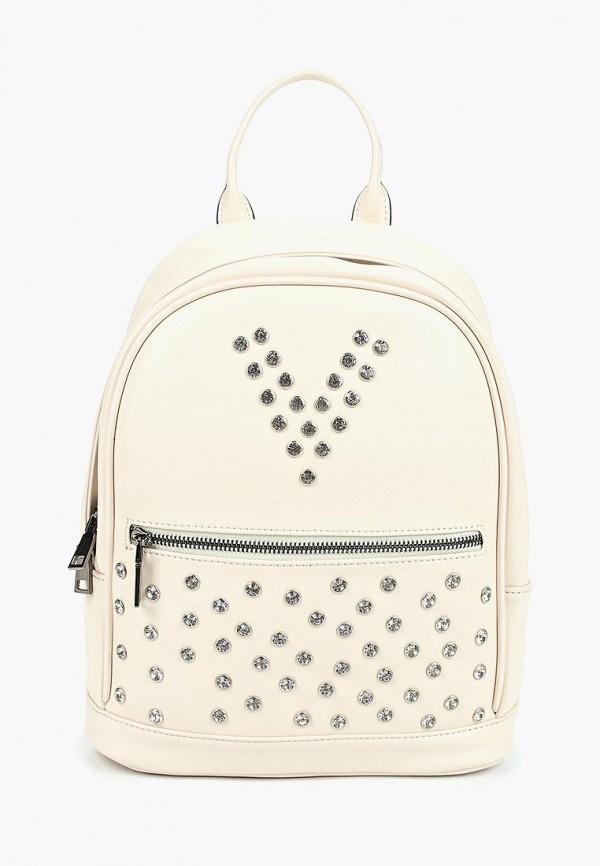 женский рюкзак vitacci, бежевый