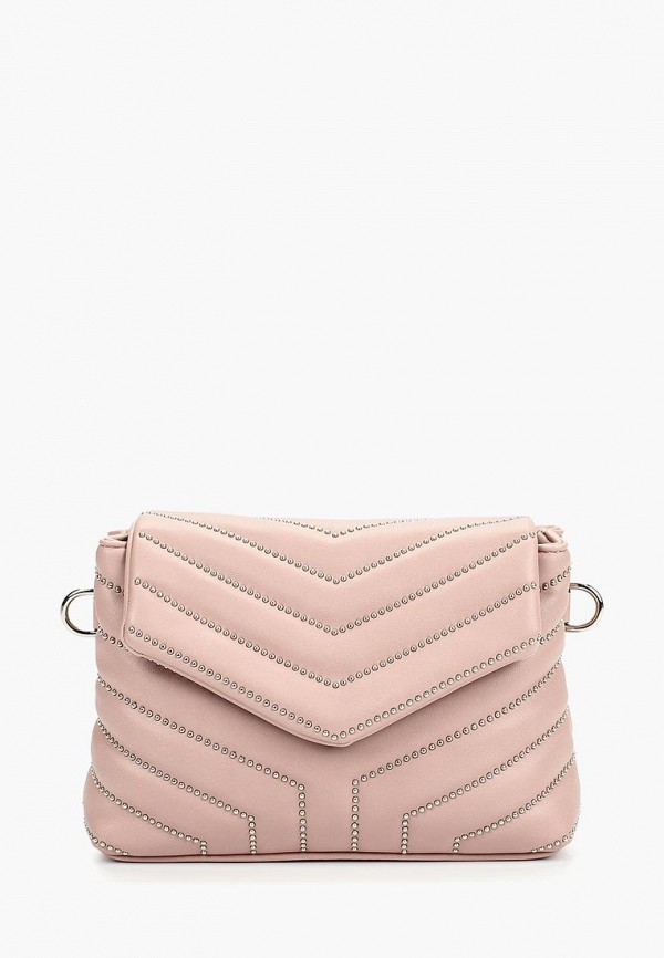 женская сумка vitacci, розовая