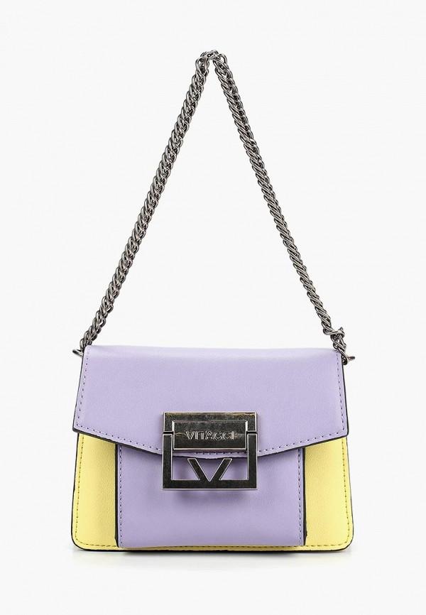 женская сумка vitacci, разноцветная