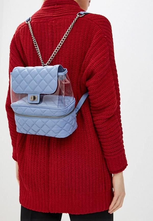 Фото 4 - женский рюкзак Vitacci синего цвета