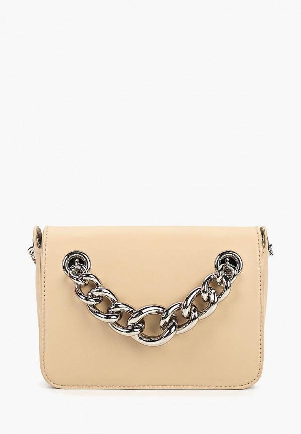 женская сумка vitacci, бежевая
