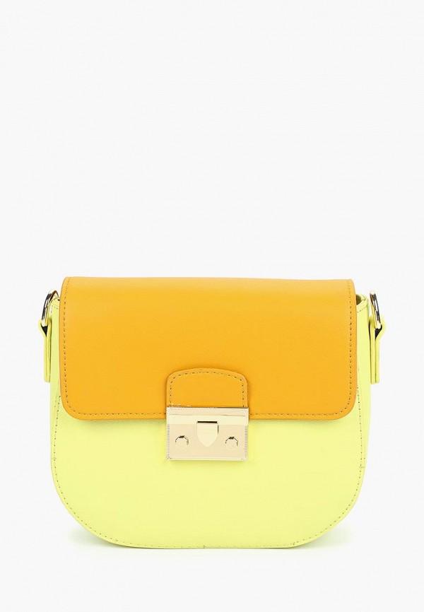 женская сумка vitacci, желтая
