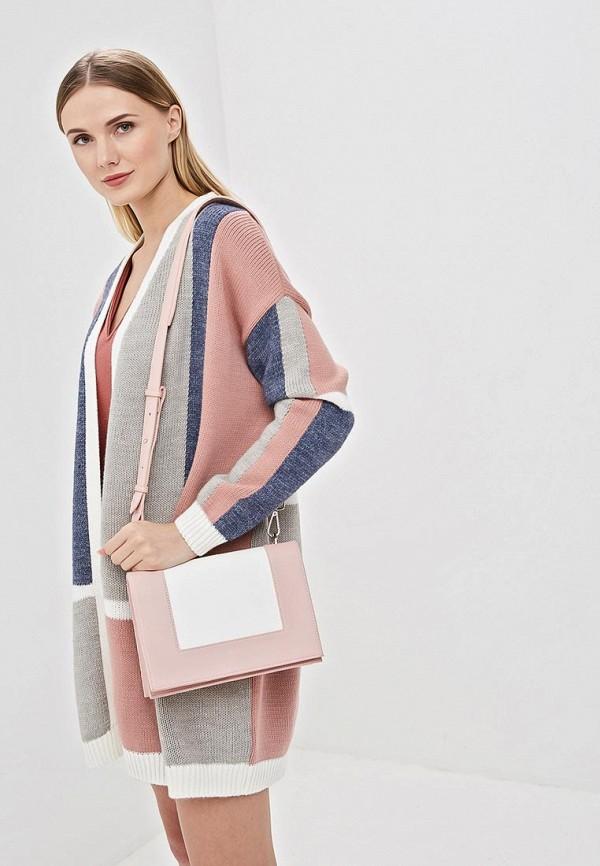 Фото 4 - женскую сумку Vitacci розового цвета