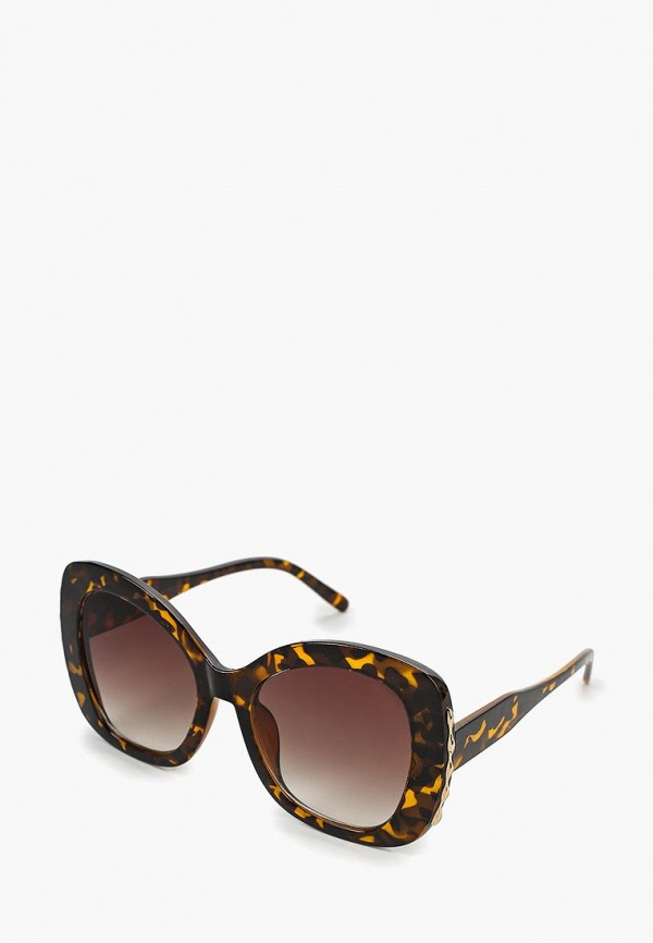 Купить Очки солнцезащитные Vitacci, vi060dwdpdv5, коричневый, Весна-лето 2019