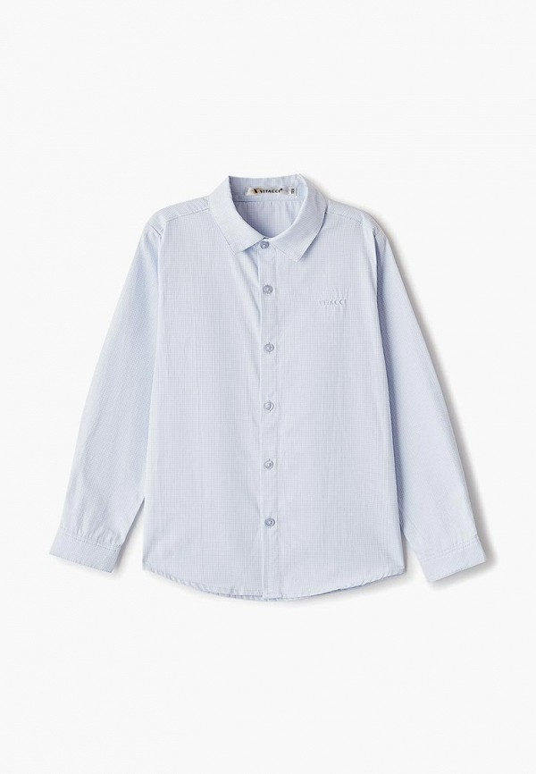 Фото - Рубашку Vitacci голубого цвета