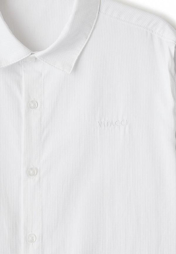 Фото 3 - Рубашку Vitacci белого цвета