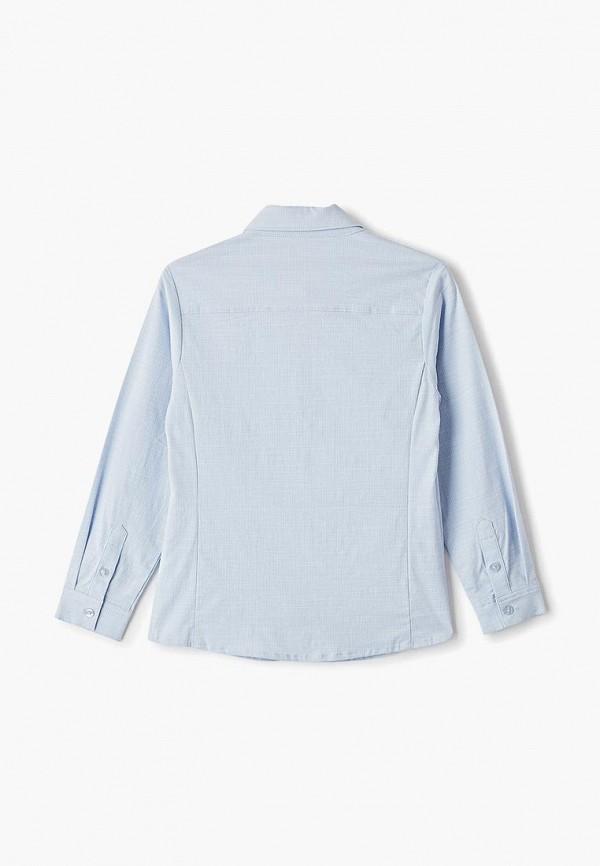 Фото 2 - Рубашку Vitacci голубого цвета