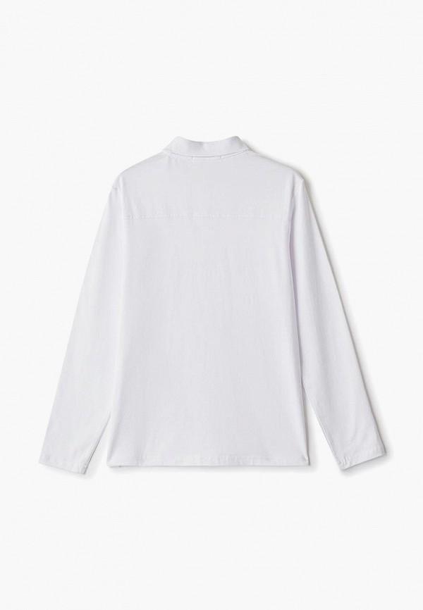 Фото 2 - футболку или поло для мальчика Vitacci белого цвета