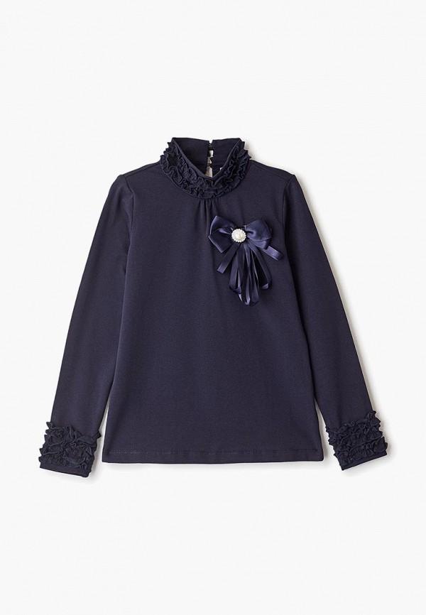 блузка vitacci для девочки, синяя