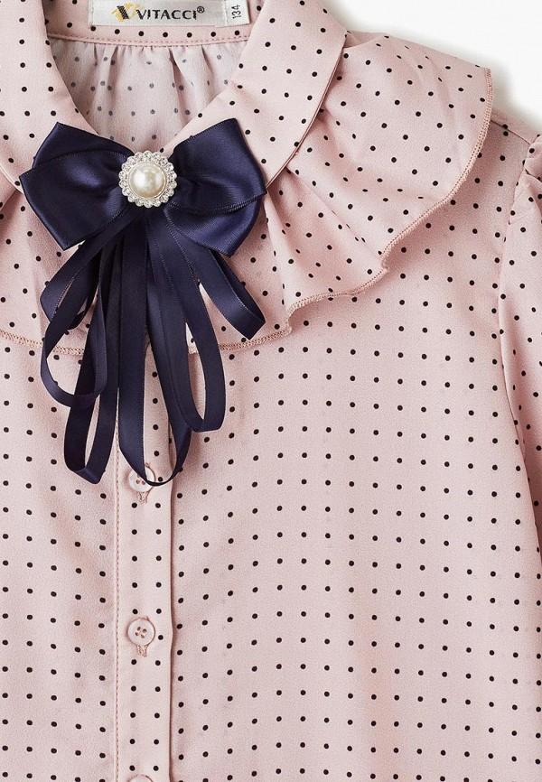 Фото 3 - Блузу Vitacci розового цвета