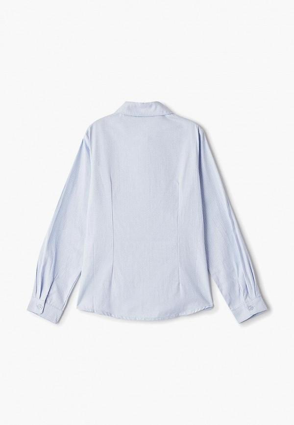Фото 2 - блузку или рубашку для девочки Vitacci голубого цвета