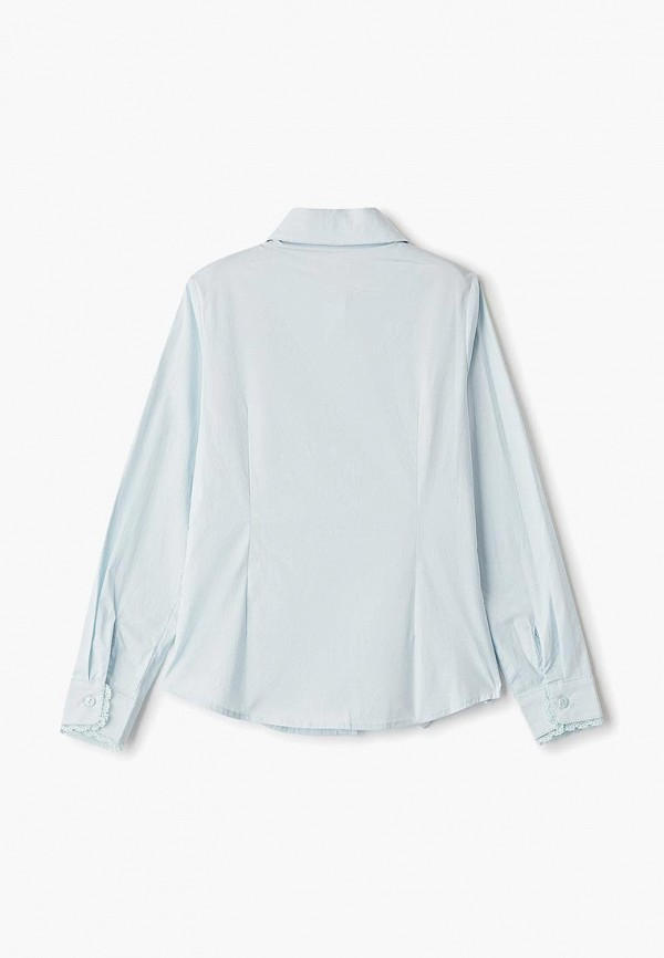 Фото 2 - Блузу Vitacci голубого цвета