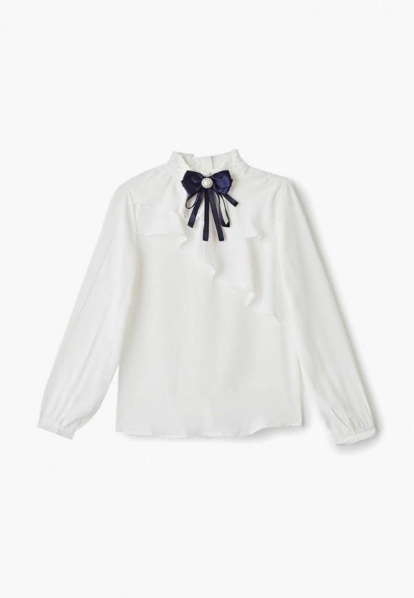 блузка vitacci для девочки, белая