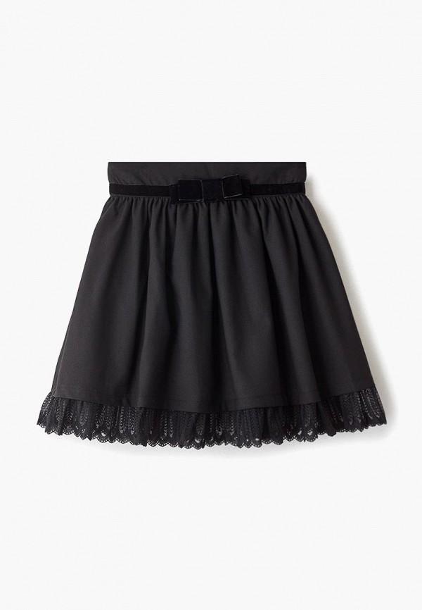 юбка vitacci для девочки, черная