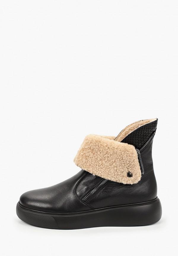 женские ботинки vittorio bravo, черные