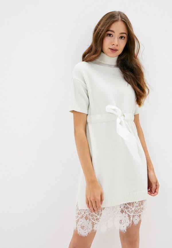 женское платье vickwool, белое