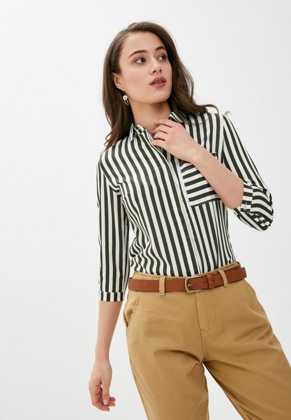женская рубашка с длинным рукавом vickwool, разноцветная