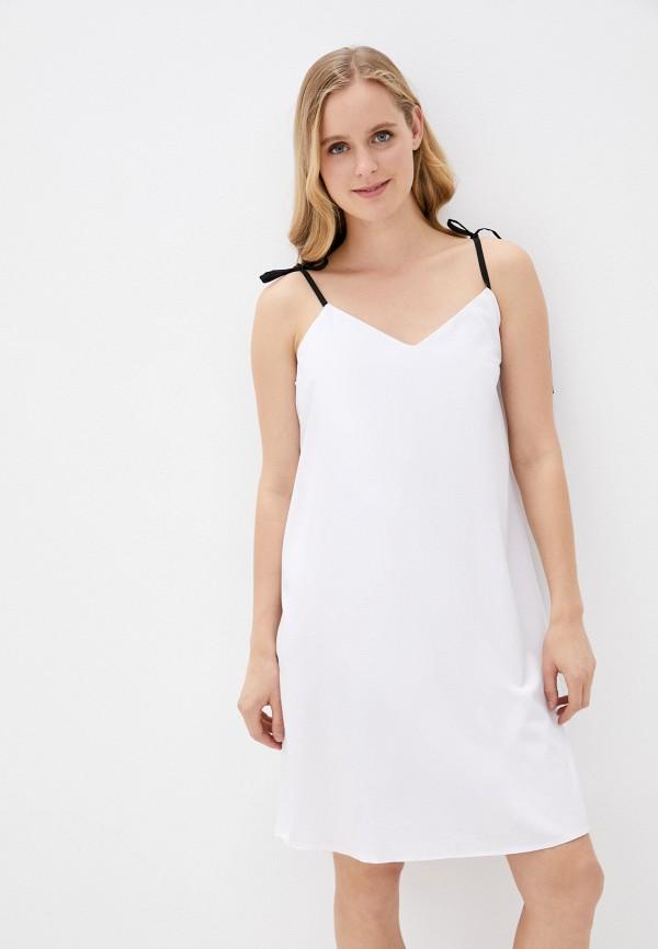 женский сарафан vickwool, белый