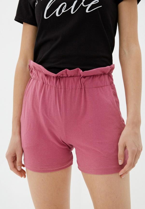 женские повседневные шорты vickwool, розовые