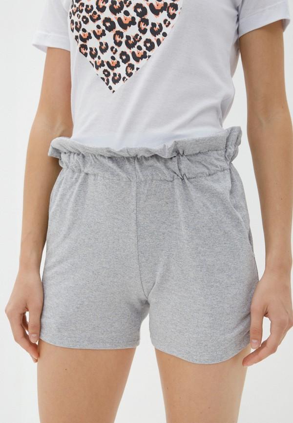 женские повседневные шорты vickwool, серые