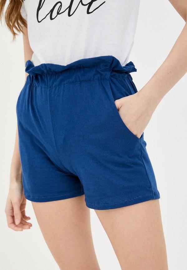 женские повседневные шорты vickwool, синие