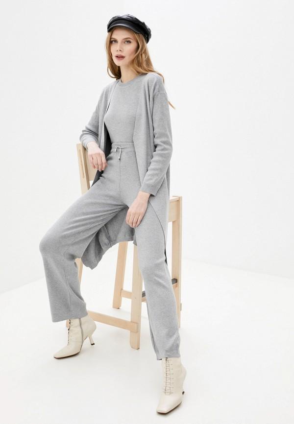 женский костюм vickwool, серый