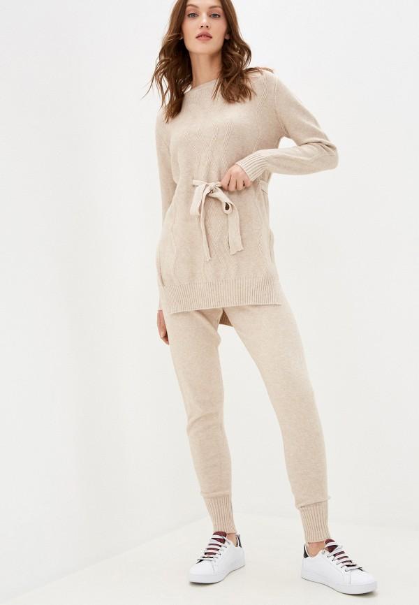 женский костюм vickwool, бежевый