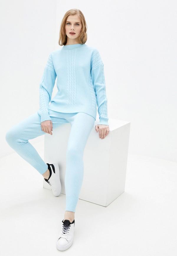 женский костюм vickwool, голубой
