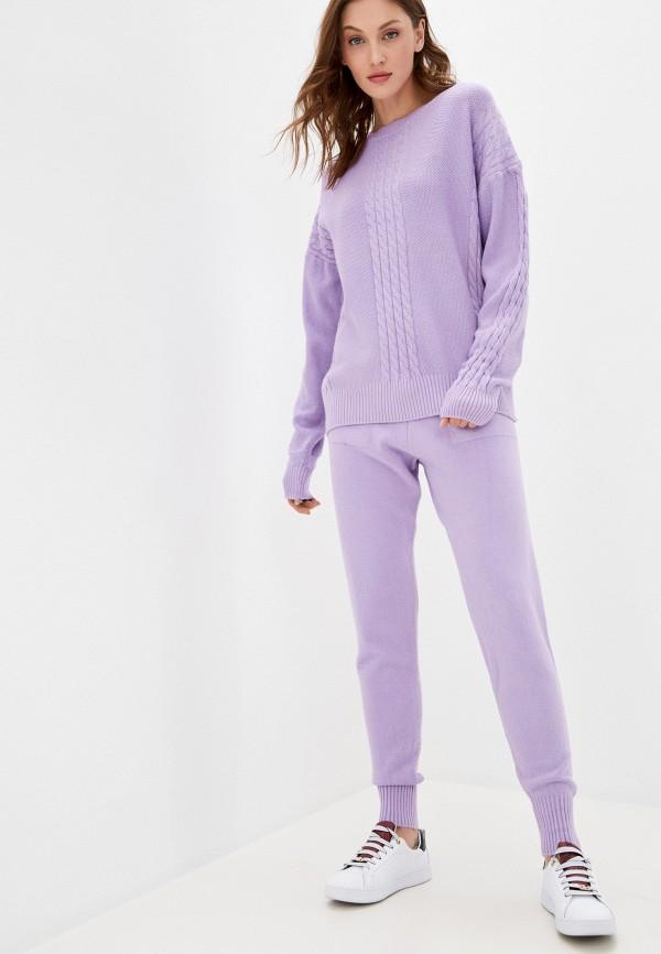женский костюм vickwool, фиолетовый