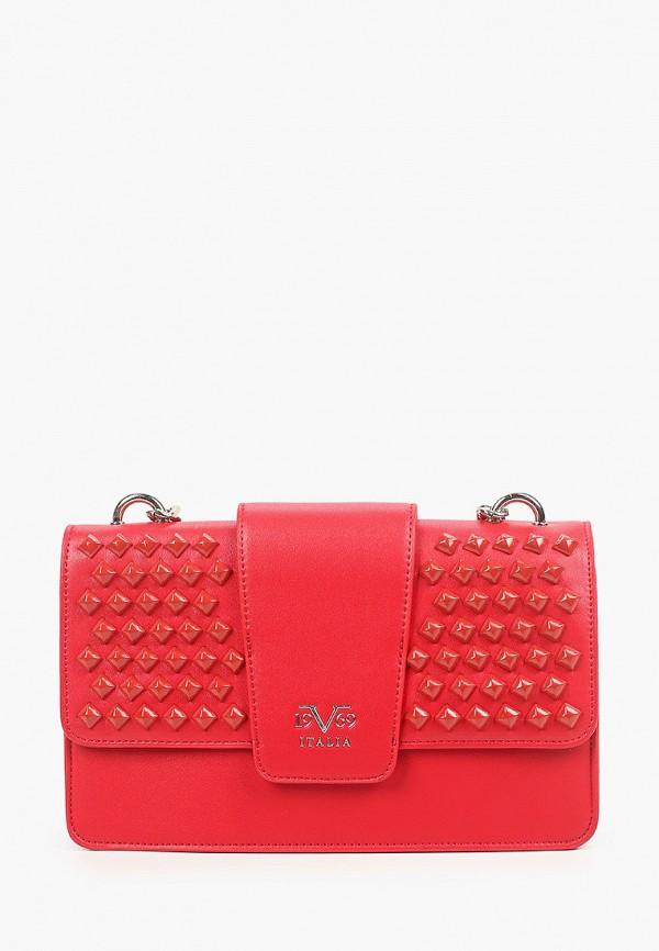 женская сумка 19v69 italia, красная