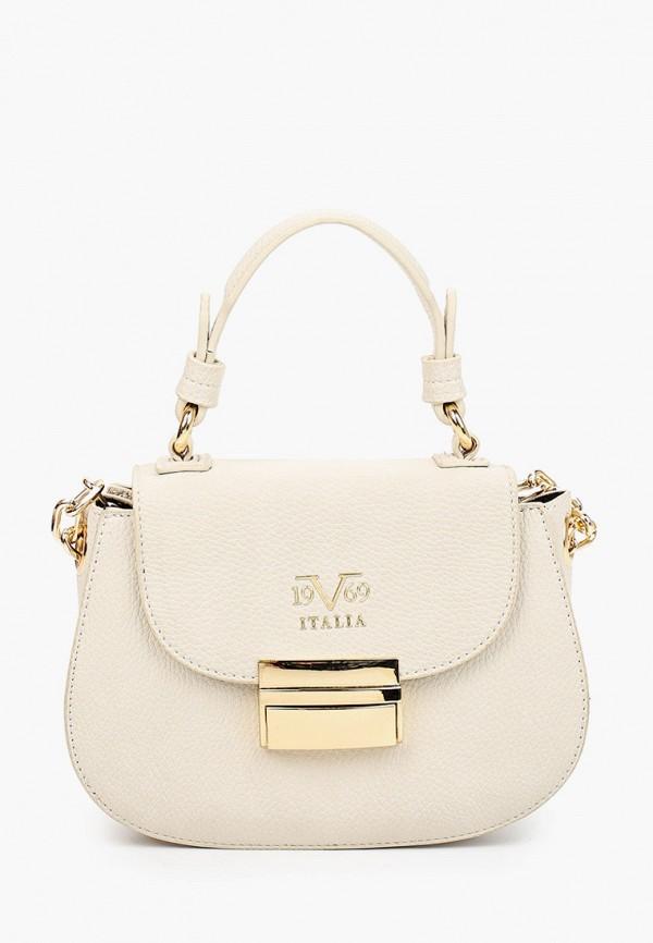 женская сумка 19v69 italia, бежевая