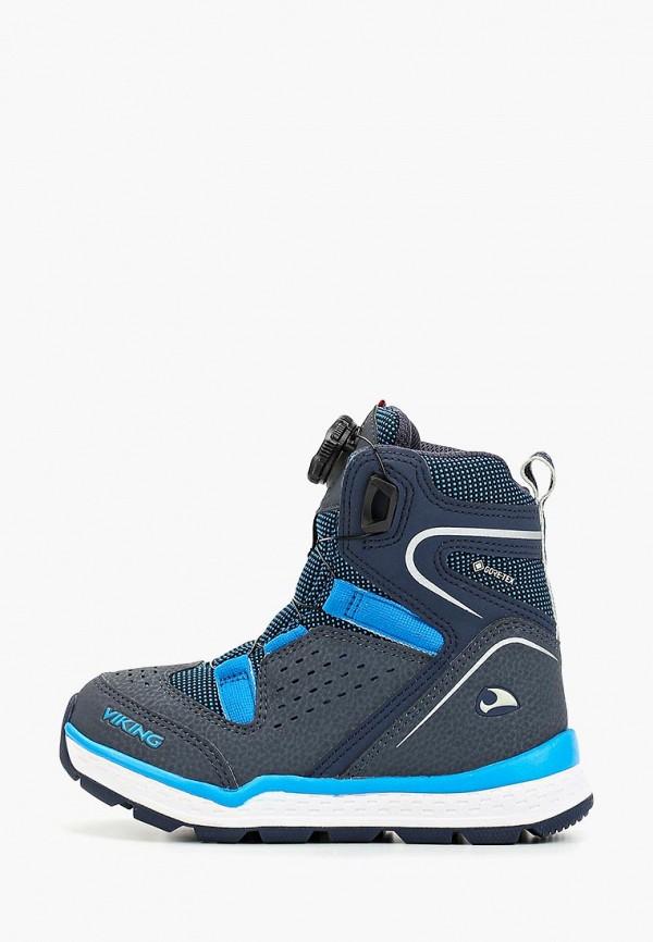 ботинки viking для мальчика, разноцветные