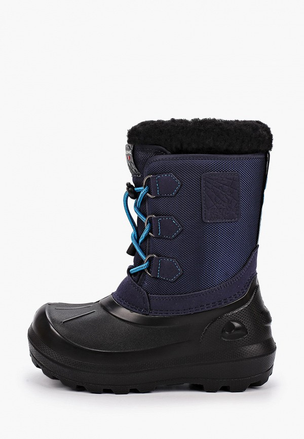 сапоги viking для мальчика, синие